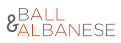 BALL & ALBANESE Photography Logo