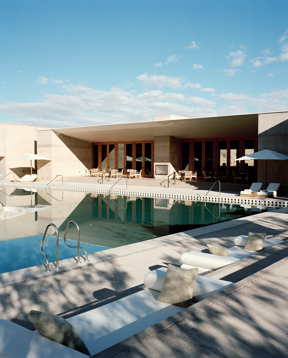 BALL & ALBANESE | Travel image of pool exterior at Amangiri resort