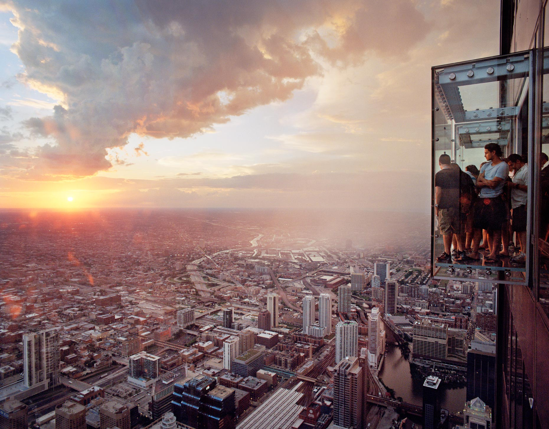 BALL & ALBANESE | Award-winning image of Chicago Willis Tower Skydeck